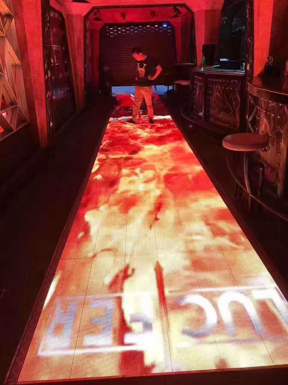 Interactive Dancing Floor LED Display